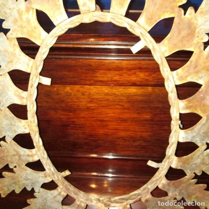 Antigüedades: Antiguo espejo tipo sol, años 20 - Foto 4 - 193769177