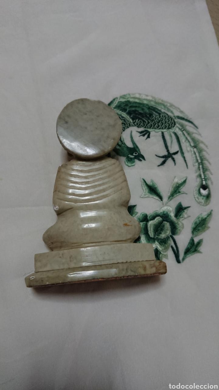 Antigüedades: ESCULTURA BUDA EN MÁRMOL, ARTESANÍA - Foto 8 - 193772628