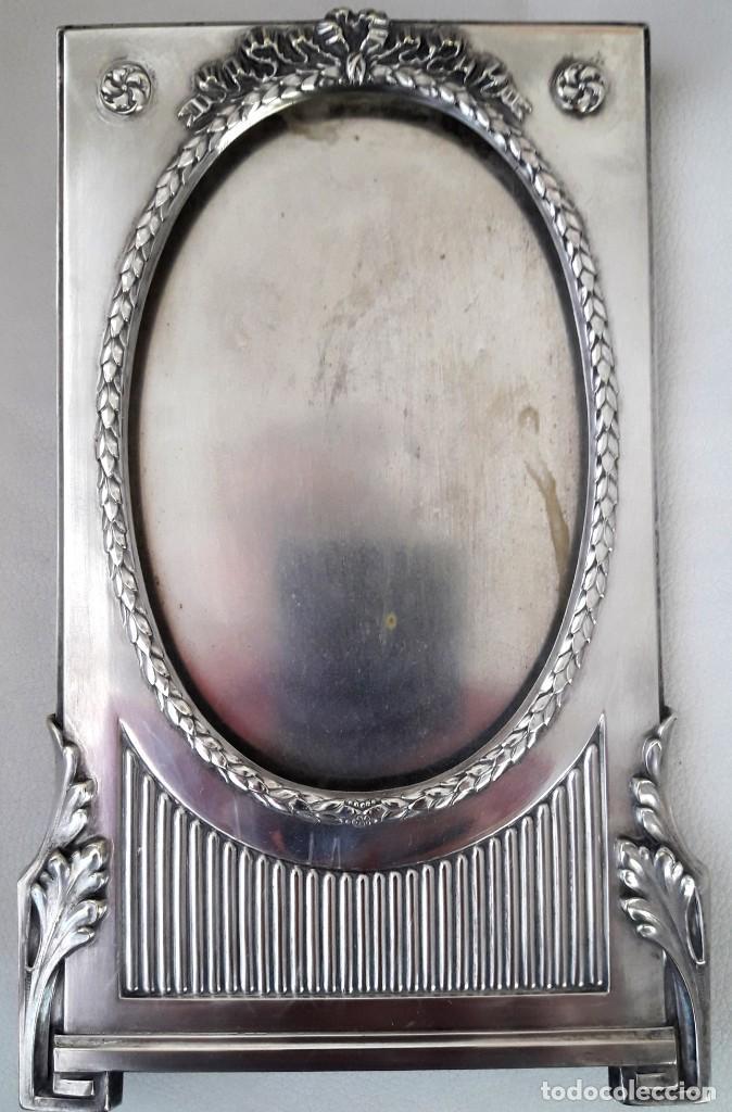 ART NOUVEAU PORTA RETRATO FRANCÉS DE ESTILO CIRCA 1900. EN EXCELENTE ESTADO (Antigüedades - Hogar y Decoración - Portafotos Antiguos)