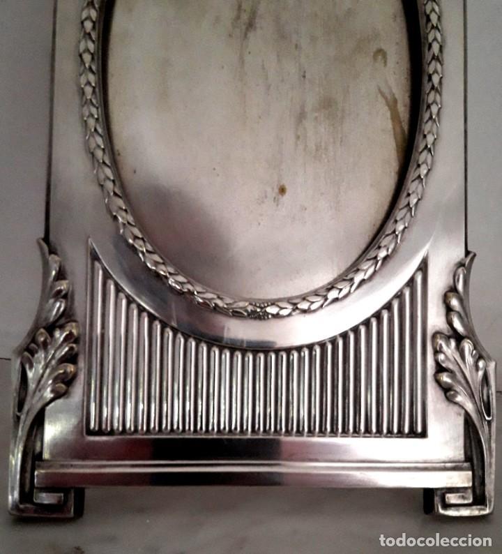 Antigüedades: Art Nouveau Porta retrato Francés de Estilo Circa 1900. En excelente estado - Foto 4 - 193772902