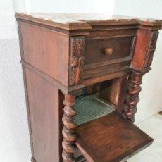 Antigüedades: ANTIGUA MESILLA SALOMONICA. Lote 193775593