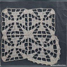 Antigüedades: GANCHILLO-CROCHET. HOJA 1 MUESTRA. Lote 193782501
