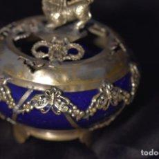 Antigüedades: CAJA O INCENSARIO ANTIGUO CHINO SON SELLO. Lote 193785355