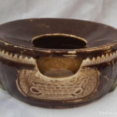 Antigüedades: ESCUPIDERA O SIMILAR ANTIGUA DE 21 CMS. DIÁMETRO X 8 CMS. ALTO. Lote 193820065