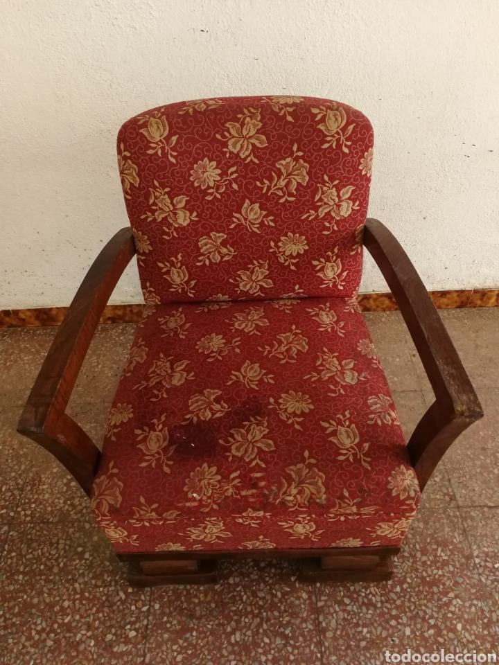 BUTACA DESCALZADORA (Antigüedades - Muebles Antiguos - Sofás Antiguos)