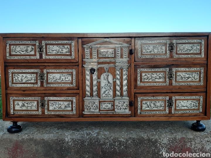 BARGUEÑO (Antigüedades - Muebles Antiguos - Bargueños Antiguos)