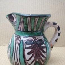 Antigüedades: ANTIGUA JARRA DE CERÁMICA -D. PUNTER 7 -13 CM TERUEL. Lote 193883588