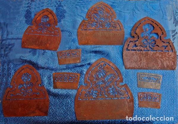 Antigüedades: Moldes de peinetas de fallera valenciana - Foto 3 - 193886620