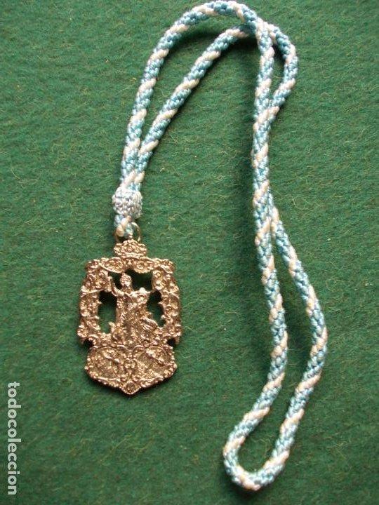 MEDALLA ANTIGUA (Antigüedades - Religiosas - Medallas Antiguas)