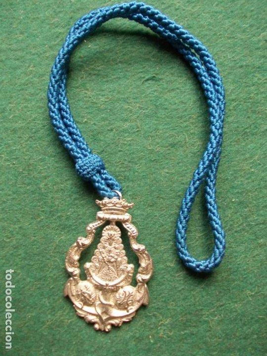 MEDALLA HERMANDAD DEL ROCIO CADIZ ANTIGUA (Antigüedades - Religiosas - Medallas Antiguas)