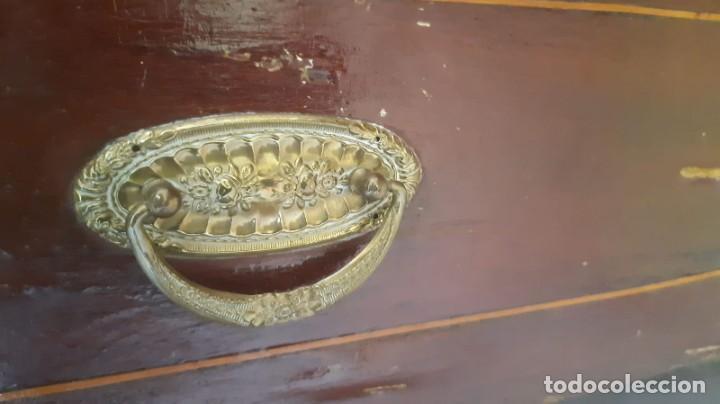 Antigüedades: ARMARIO ANTIGUO 221 CMS. ALTO X 121 DE LARGO X 45 DE FONDO - Foto 5 - 193941183