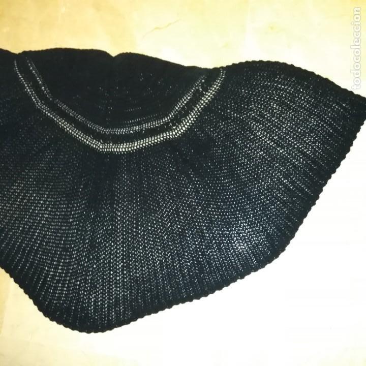 Antigüedades: Antigua Toquilla pelerina de lana manual del siglo xix - Foto 3 - 193944182