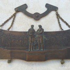 Antigüedades: GOLA CONMEMORATIVA DE UN BAILE DE VALSES.STRAUSS-LANNER: LANDSTRASSER BURGER BALL 1906. WIEN.. Lote 193948310