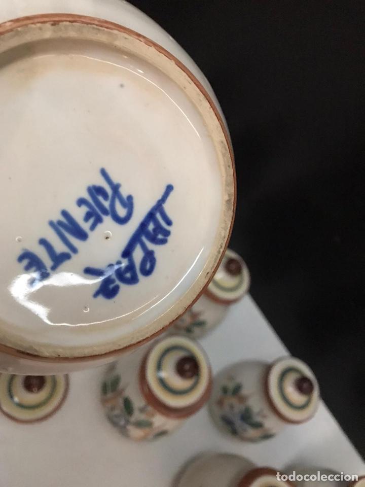Antigüedades: Lote de tarros de cocina cerámica puente del arzobispo años 70 - Foto 5 - 193975796
