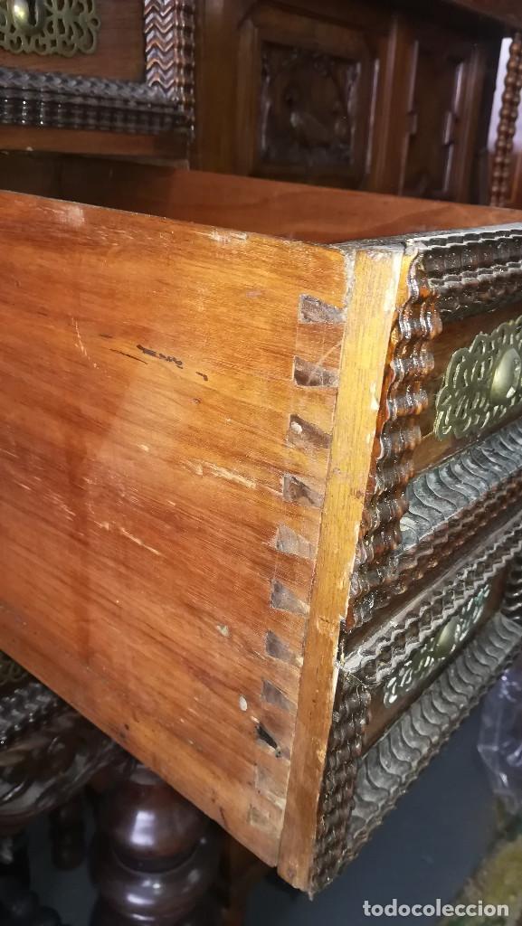 Antigüedades: BARGUEÑO PORTUGUES ANTIGUO SIGLO XVIII - Foto 20 - 193988606