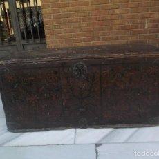 Antigüedades: ANTIGUA ARCA MUDEJAR SIGLO XVI. Lote 193996251