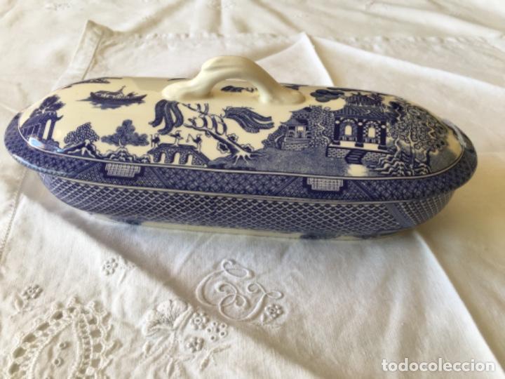 CAJA DE PEINES (Antigüedades - Porcelanas y Cerámicas - San Claudio)