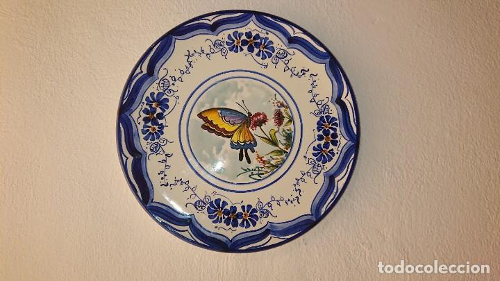 Antigüedades: Plato mariposa - Foto 3 - 194002796