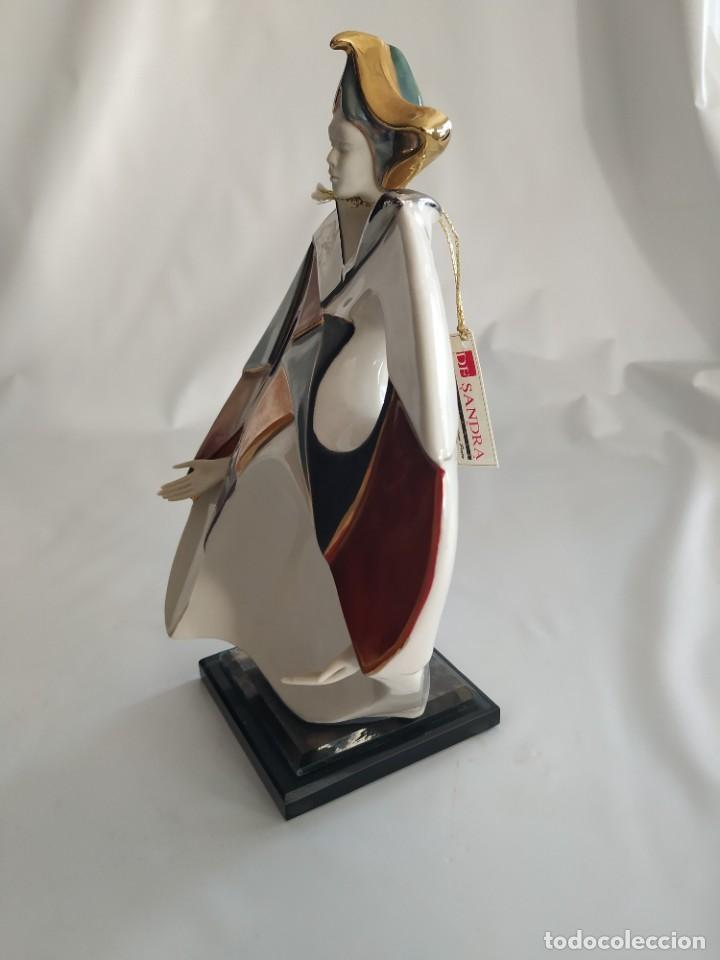 Antigüedades: Escultura Porcelana DeSandra Modelo 2 - Foto 2 - 194006276