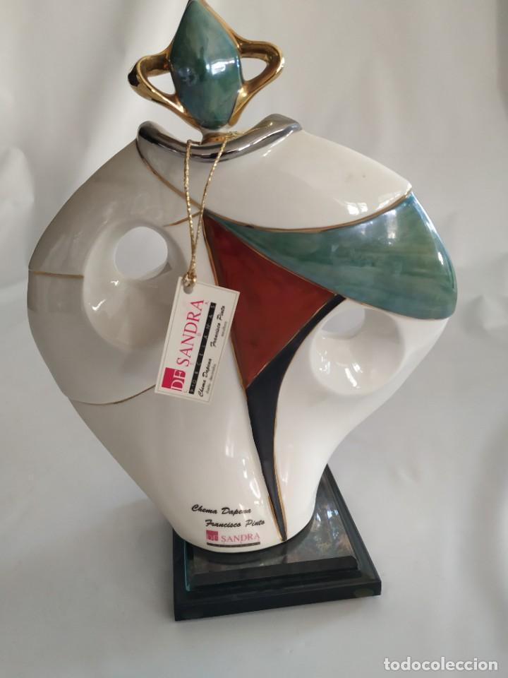Antigüedades: Escultura Porcelana DeSandra Modelo 2 - Foto 3 - 194006276