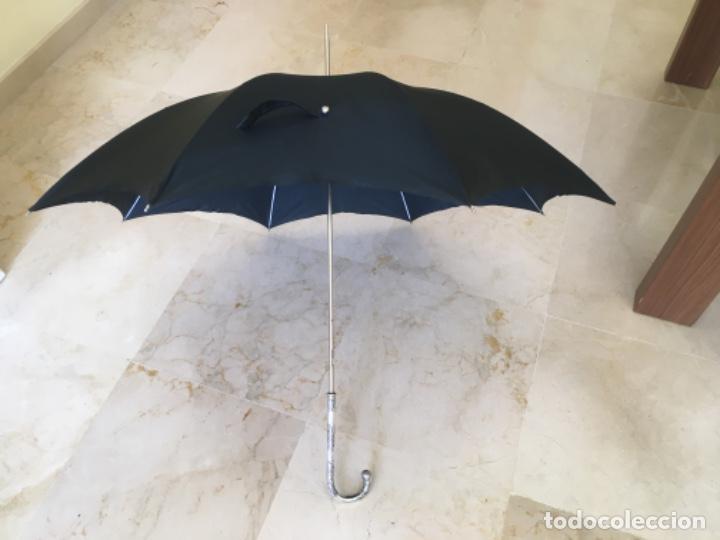 Antigüedades: Paraguas con mango de plata - Foto 5 - 194010298