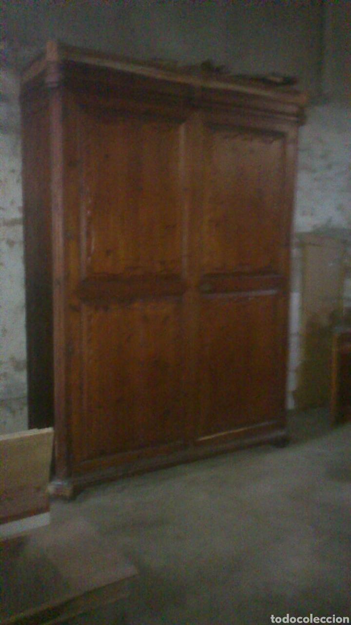 ARMARIO S XVIII (Antigüedades - Muebles Antiguos - Armarios Antiguos)