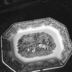 Antigüedades: FUENTE OCHAVADA DE CERÁMICA DE CARTAGENA SIGLO XIX. Lote 194012420