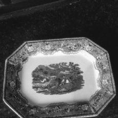 Antigüedades: FUENTE OCHAVADA DE CERÁMICA DE CARTAGENA SIGLO XIX. Lote 194012641