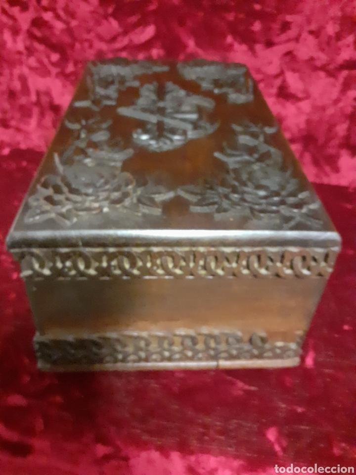 Antigüedades: Arqueta nogal - Foto 3 - 194052541