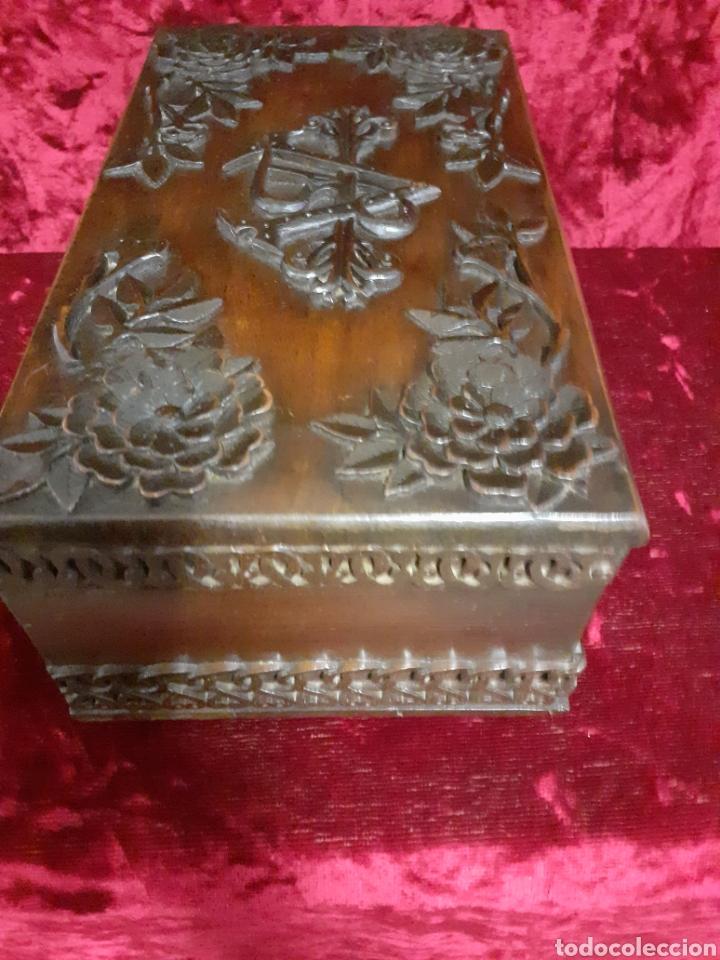 Antigüedades: Arqueta nogal - Foto 4 - 194052541
