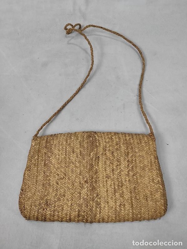 Antigüedades: Bolso de paja de centeno - Foto 3 - 194064716