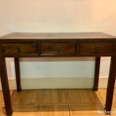 Antigüedades: MESA DESPACHO CHINA ORIGINAL. Lote 194066506