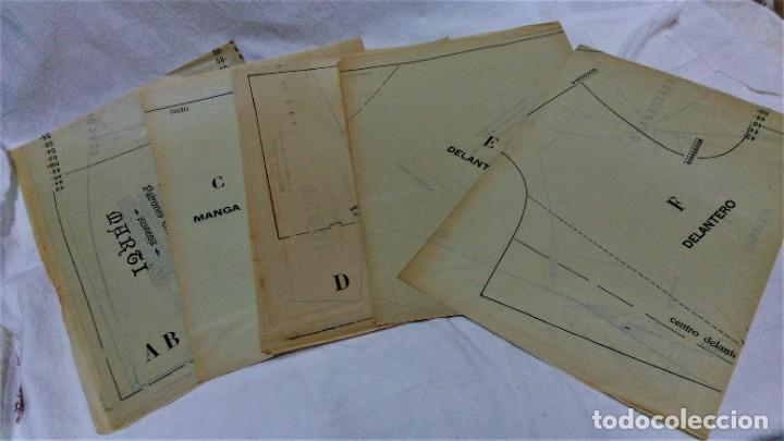 Antigüedades: LECCIONES SOBRE LA MODA.ACADÉMIA CENTRAL MARTÍ,BARCELONA.PATRONES Y LÁMINAS.INVIERNO 1919-20 - Foto 14 - 194070976