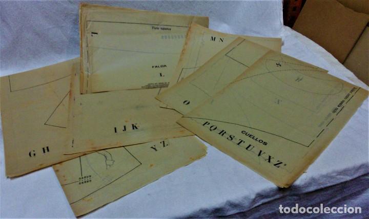 Antigüedades: LECCIONES SOBRE LA MODA.ACADÉMIA CENTRAL MARTÍ,BARCELONA.PATRONES Y LÁMINAS.INVIERNO 1919-20 - Foto 15 - 194070976