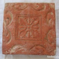 Antigüedades: AZULEJO SIGLO XVI. Lote 194076461