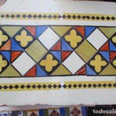 Antigüedades: AZULEJO SIGLO XVIII VALENCIANO. Lote 194077043