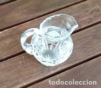 Antigüedades: JARRA PEQUEÑA DE CRISTAL DE BOHEMIA para té - Foto 2 - 194080107