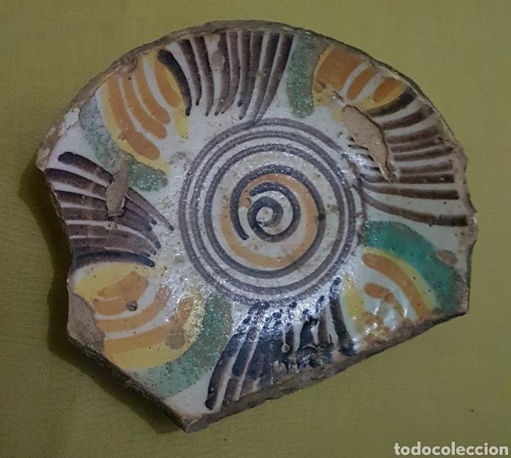 ANTIGUO CENTRO DE LEBRILLO TRIANA HACIA 1850 (Antigüedades - Porcelanas y Cerámicas - Triana)