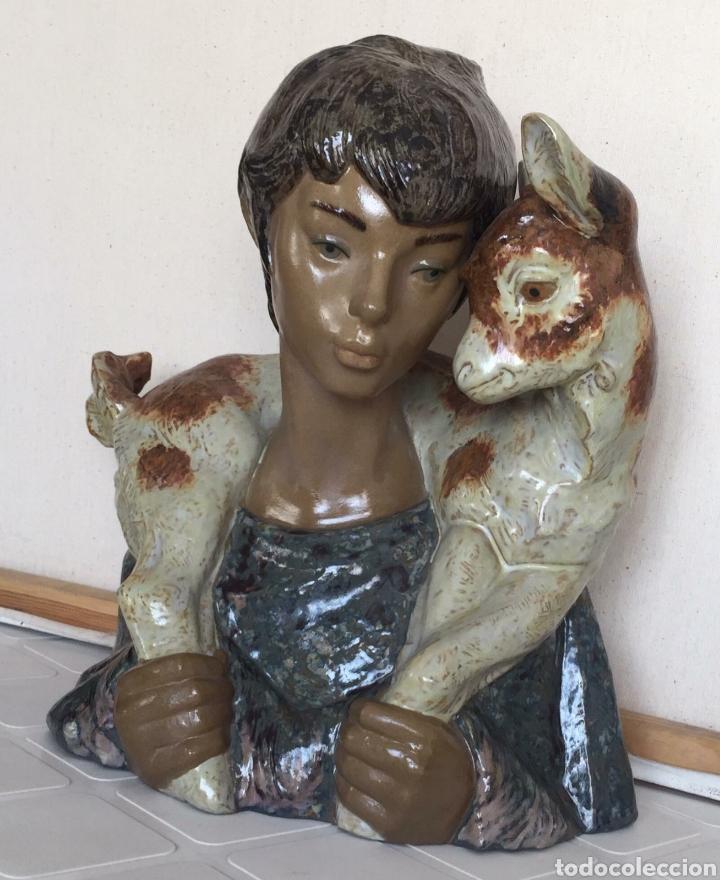 ESPECTACULAR FIGURA LLADRO EN PERFECTO ESTADO (Antigüedades - Porcelanas y Cerámicas - Lladró)