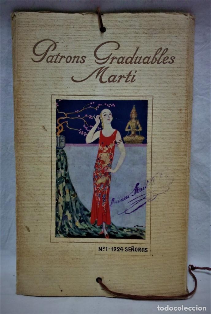 PATRONES GRADUABLES MARTÍ. LA MODA DE VERANO 1924.PATRONES Y MODELOS SEÑORAS. (Antigüedades - Moda - Otros)