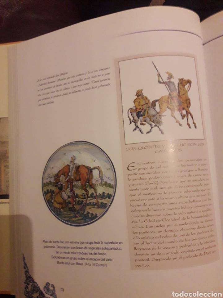 Antigüedades: El Quijote en la cerámica de Talavera de la Reina - Foto 2 - 194087340