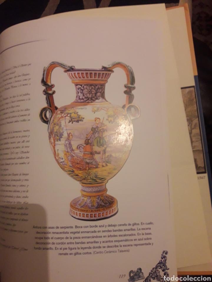 Antigüedades: El Quijote en la cerámica de Talavera de la Reina - Foto 4 - 194087340