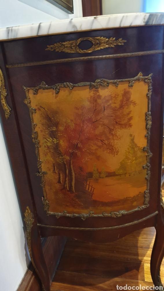 Antigüedades: Mesilla antigua estilo luis xv - Foto 4 - 194089418