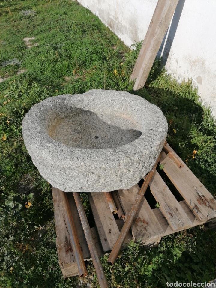 Antigüedades: Pila de granito antigua - Foto 3 - 194105346