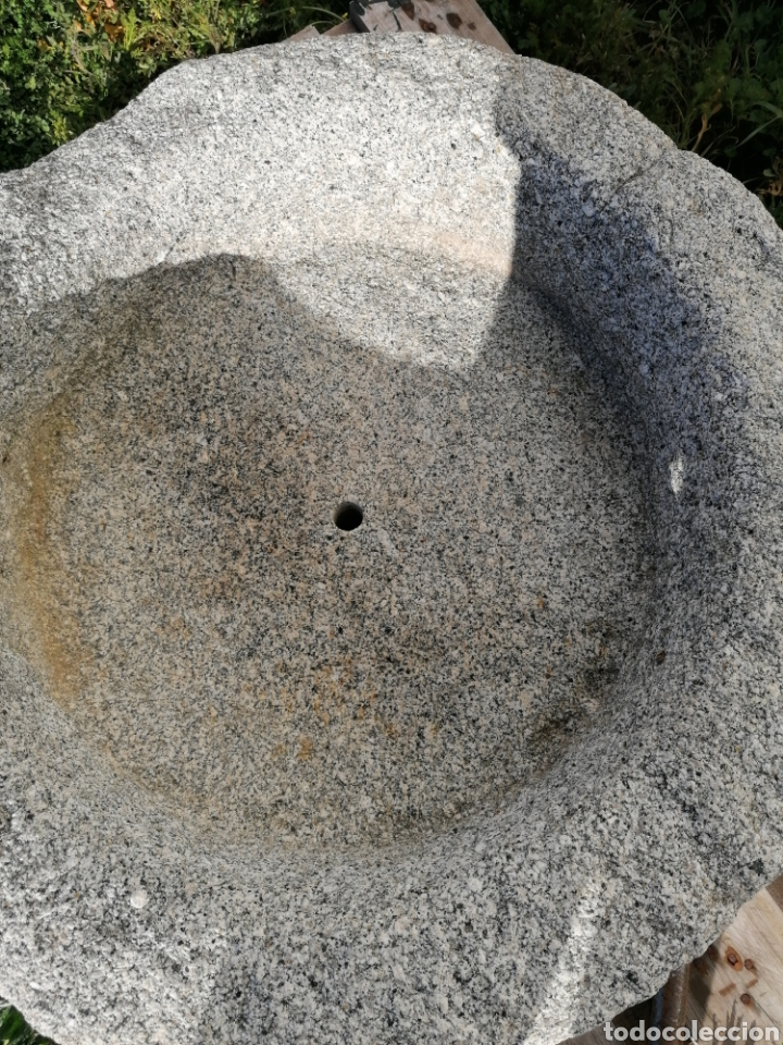 Antigüedades: Pila de granito antigua - Foto 4 - 194105346