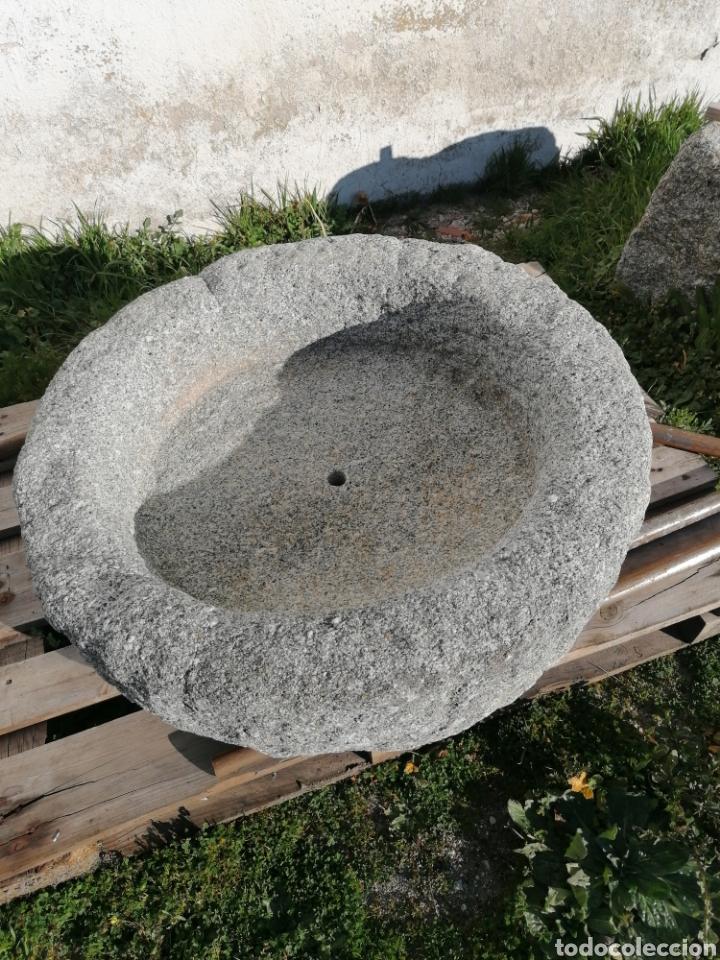 PILA DE GRANITO ANTIGUA (Antigüedades - Técnicas - Rústicas - Ganadería)