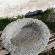 Antigüedades: PILA DE GRANITO ANTIGUA. Lote 194105346