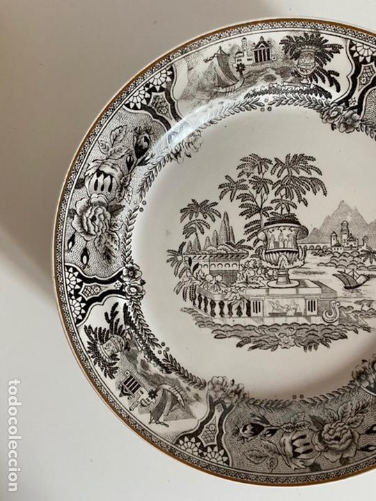 Antigüedades: 6 platos de San Claudio - Foto 3 - 194108738