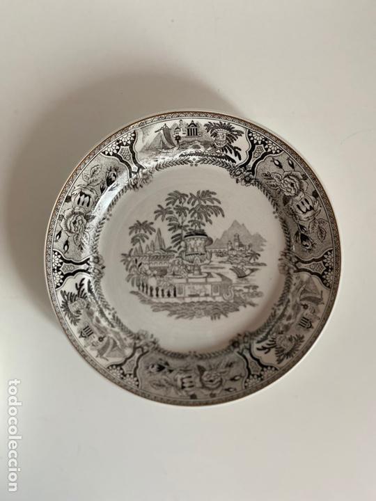 Antigüedades: 6 platos de San Claudio - Foto 6 - 194108738