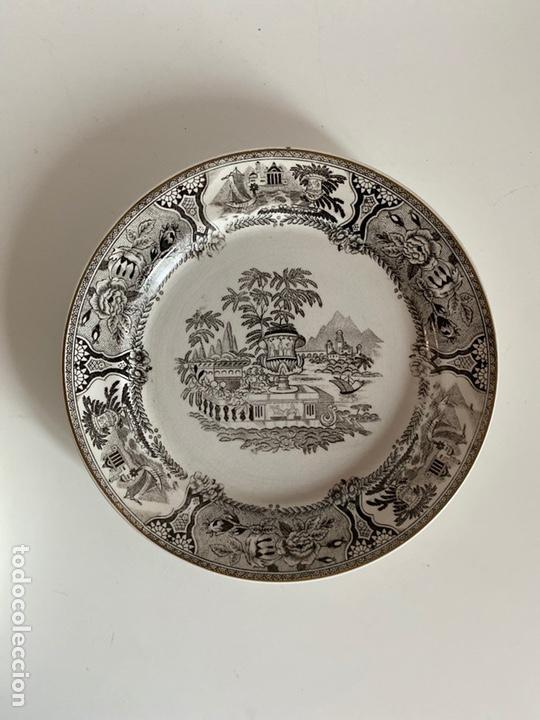Antigüedades: 6 platos de San Claudio - Foto 8 - 194108738